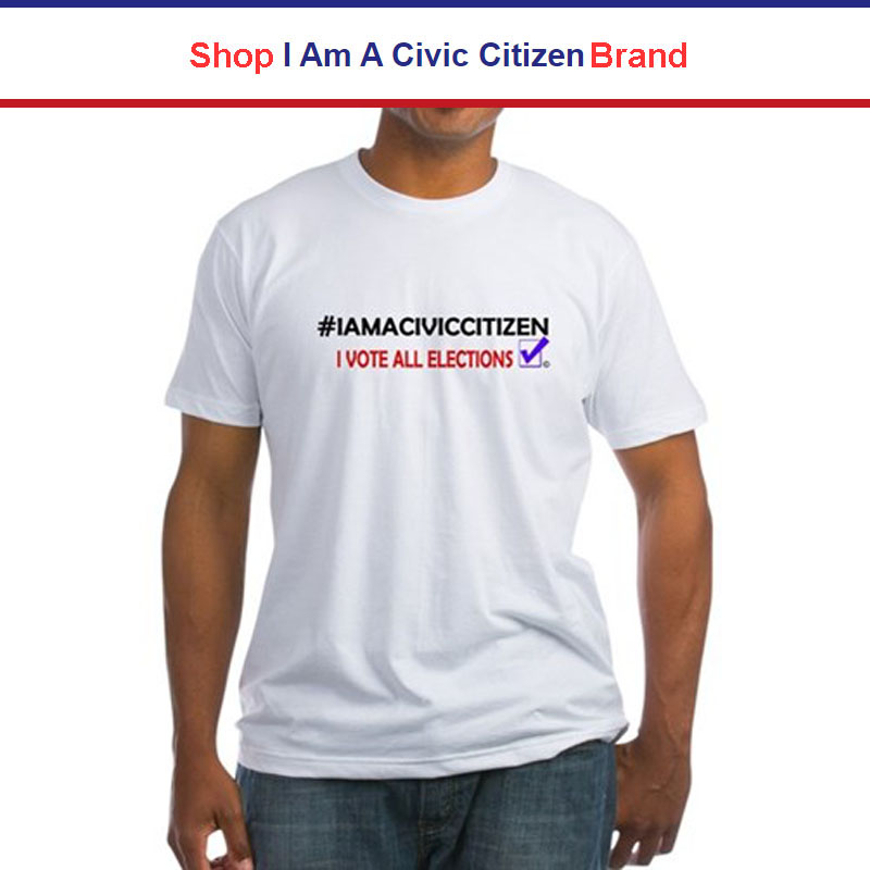 Shop 'I Am A Civic Citizen' Brand Merchandise