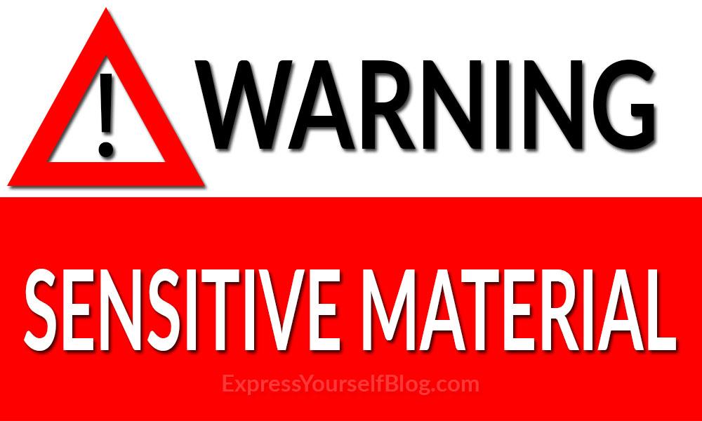 Warning-Sensitive Material