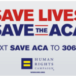 HRC Text Campain to Save ACA