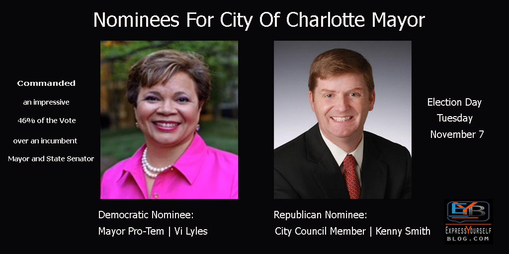 Charlotte Mayoral Nominees | Vi Lyles and Kenny Smith