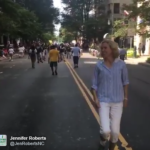 Charlotte Mayor, Jennifer Roberts Parties With The People
