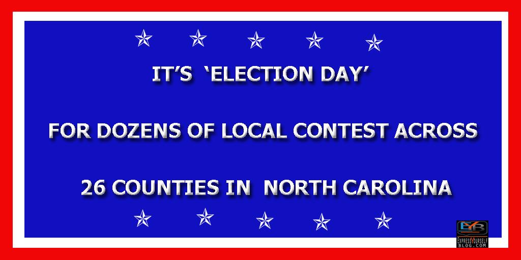 Election Day Across North Carolina Counties