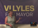 CHARLOTTE MAYORAL NOMINEE DEMOCRAT VI LYLES SPEAKS AT VOLUNTEER KICK-OFF EVENT