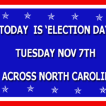 Election Day In North Carolina
