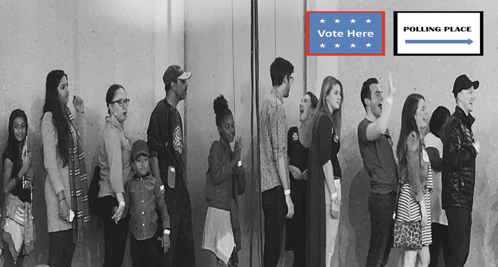 EXPRESS YOURSELF-VOTE EARLY