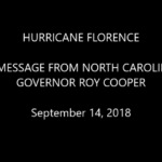 Hurricane Florence | Gov Cooper's Key Message To Citizens