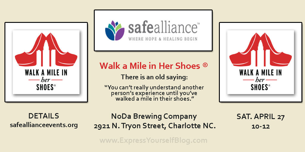 Walk A Mile In Her Shoes | Safe Alliance Charlotte