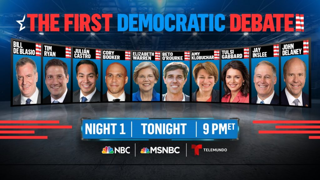 First Presidential Democratic Debate
