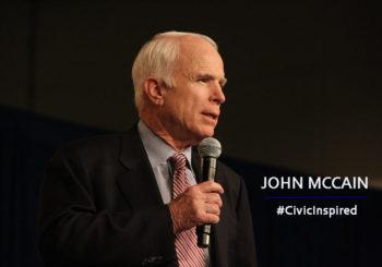 JOHN MCCAIN-CIVIC INSPIRED MOMENT