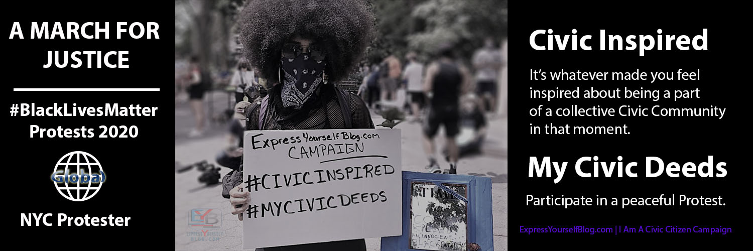 Marching For Justice: Black Lives Matter Protests 2020-NYC Protester | Civic Inspired