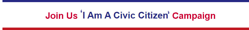 Join Us-I Am A Civic Citizen Campaign-Through 2020 Elections